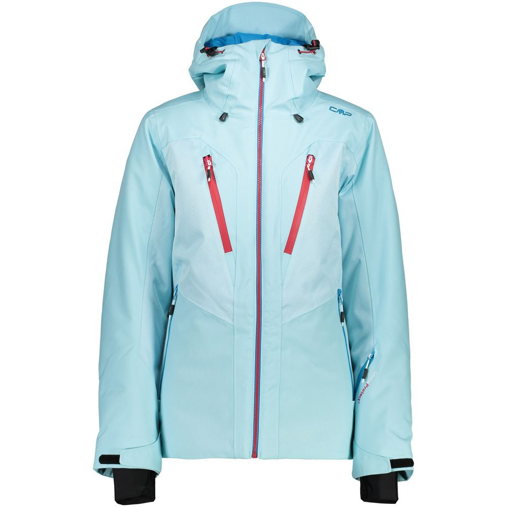 CMP - Fix Hood Ski Jacket Women sky light at Sport Bittl Shop 696a2f1c80