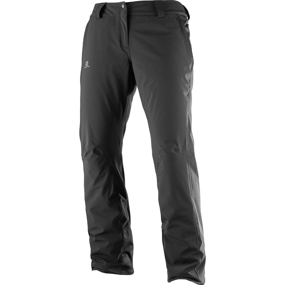 Salomon Icemania Hardshell Skihose Damen black