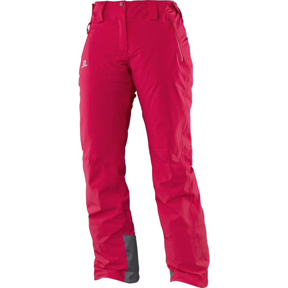 salomon iceglory skihose damen lotus pink kaufen im sport bittl shop. Black Bedroom Furniture Sets. Home Design Ideas