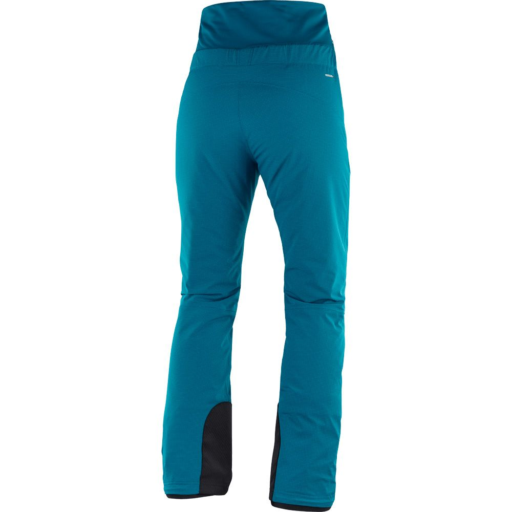 Salomon Catch Me Pants Women deep lagoon at Sport Bittl Shop