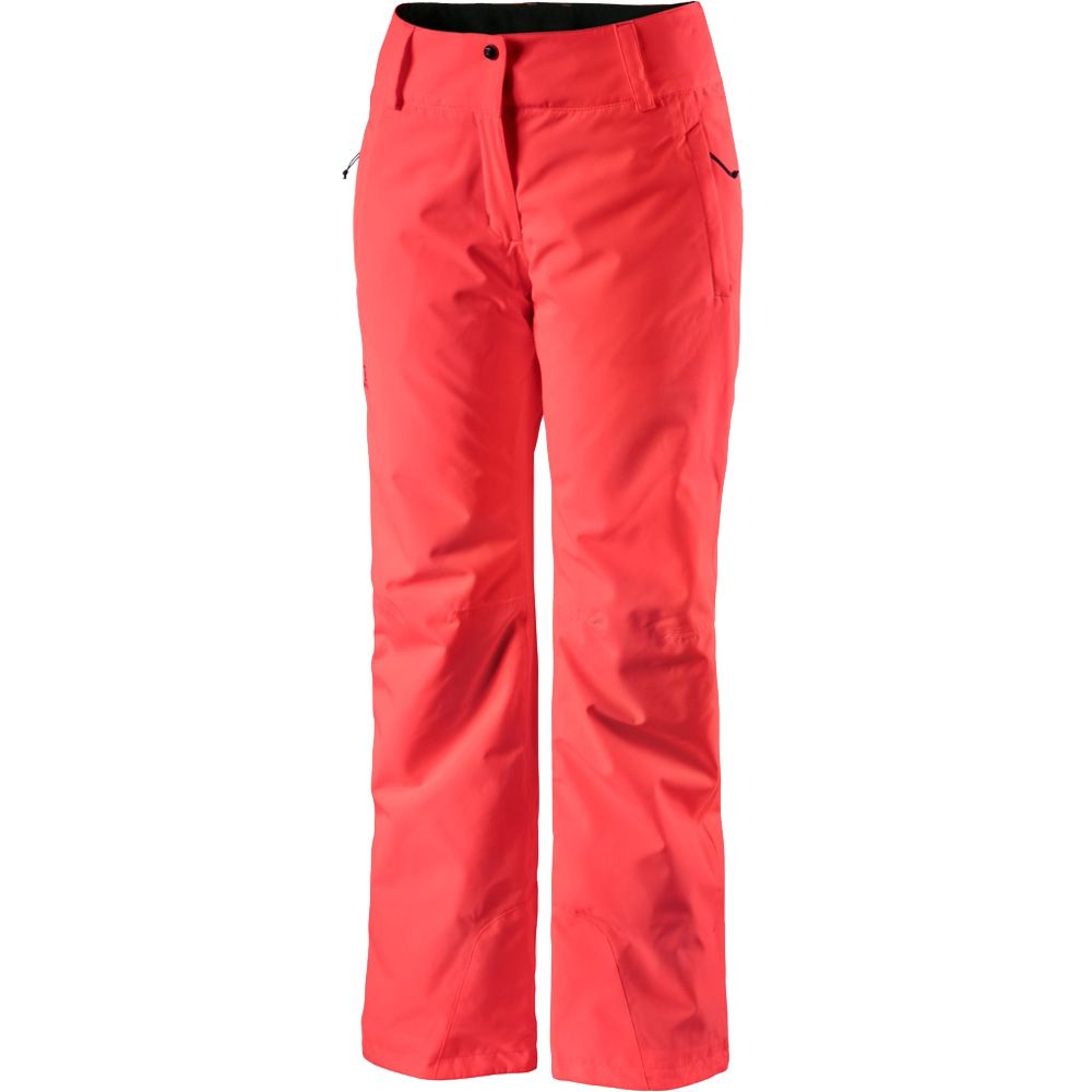 Salomon Strike Hardshell Ski Pant Women coral at Sport