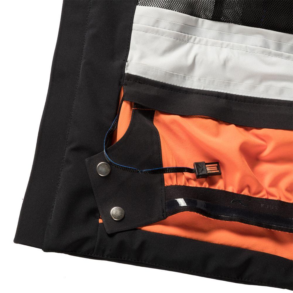9b96e8af KJUS - 7Sphere Hydro Bot Ski Jacket Men black at Sport Bittl Shop
