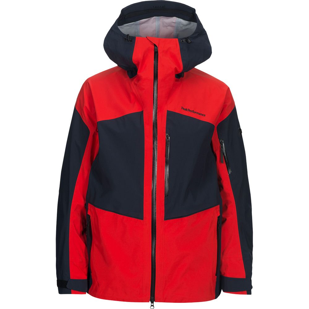 Peak Performance Gravity Hardshell Jacket Men dyna red at
