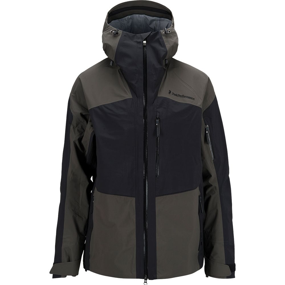 Peak Performance Heli Gravity Jacket Men black olive at
