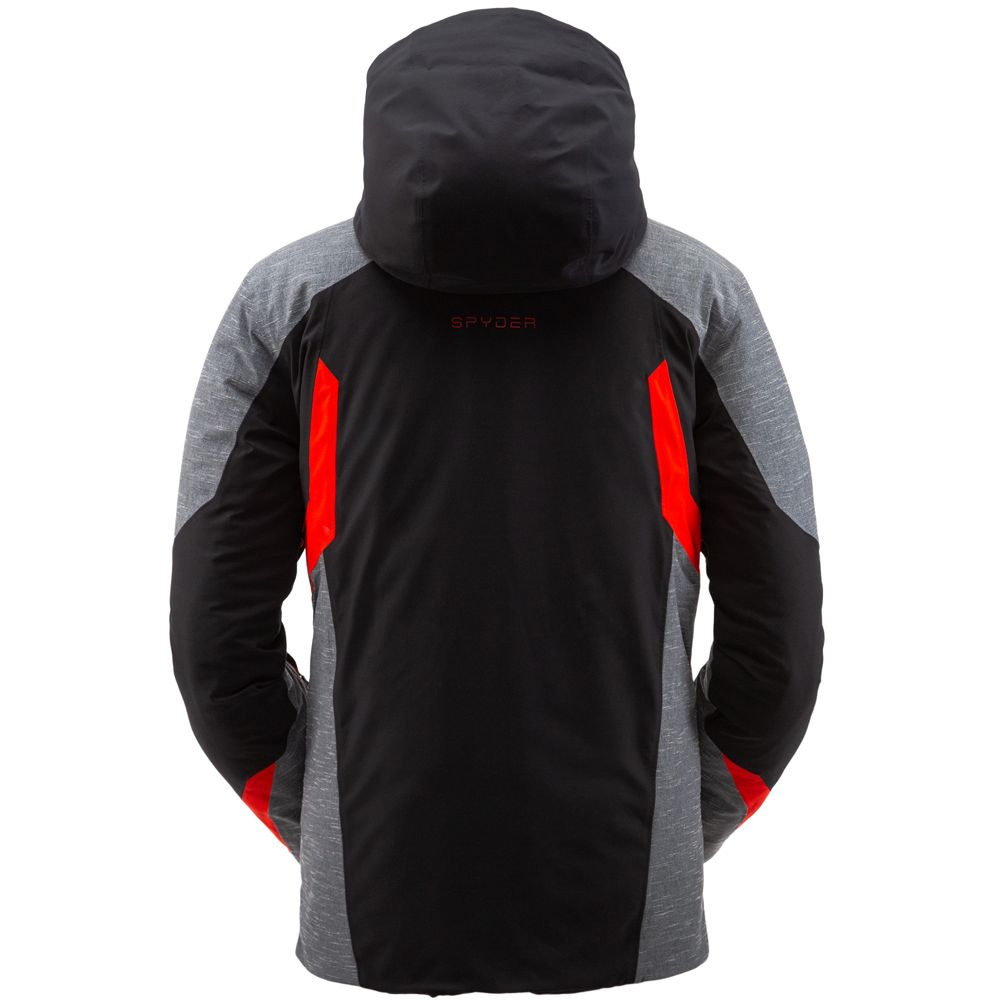 Copper GTX Ski Jacket Men black volcano