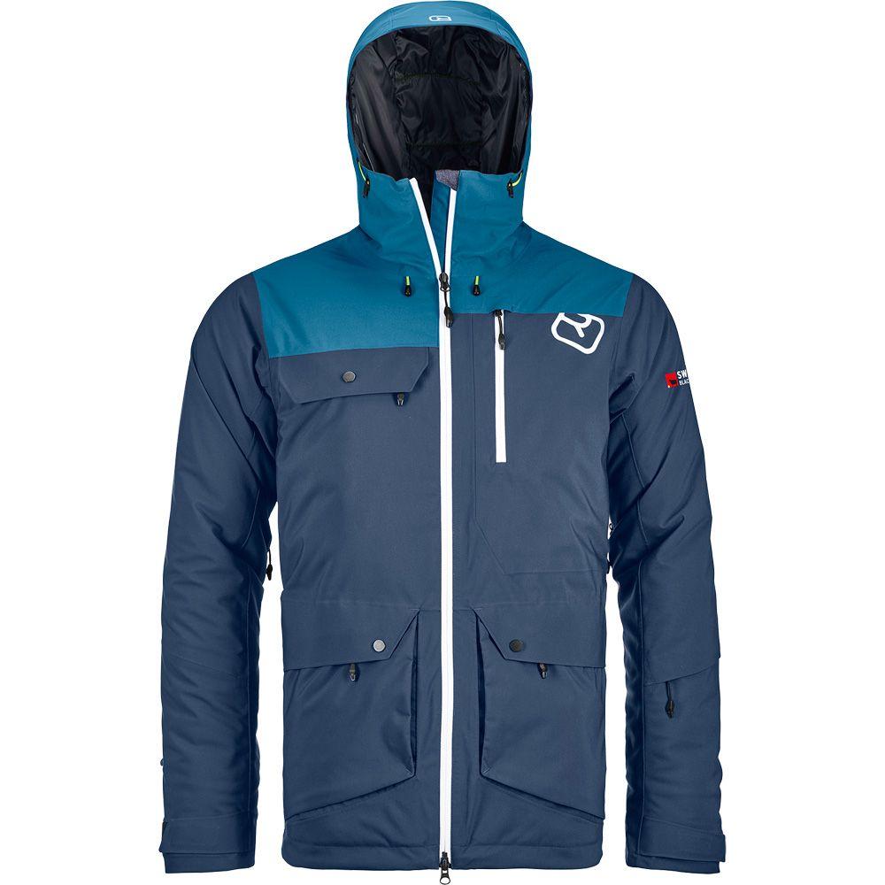 2L Swisswool Andermatt Jacket Herren night blue