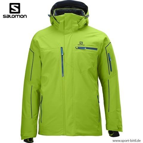 Salomon Brillant Jacket Men organic green kaufen im Sport