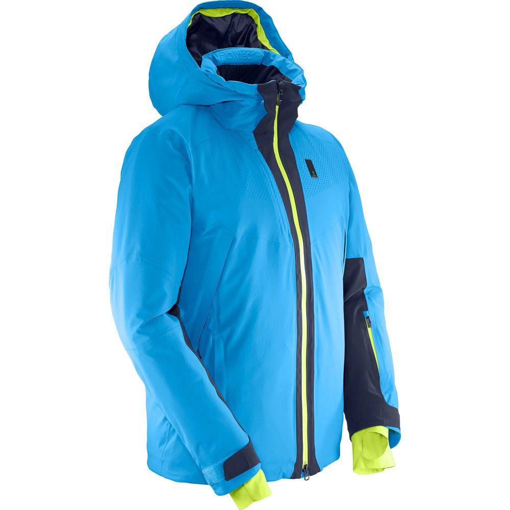 Salomon Whitezone Hardshell Jacke Herren surf night sky