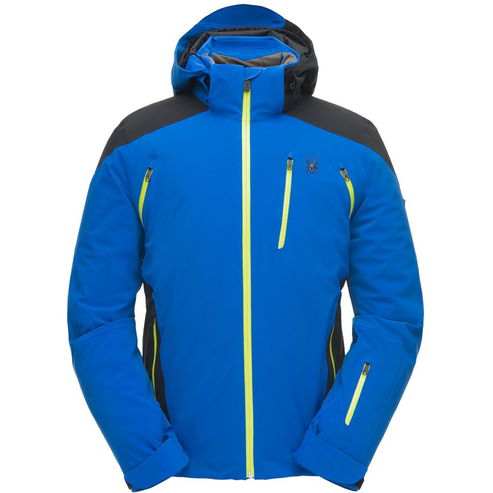 Spyder Garmisch Skijacke Herren blau schwarz