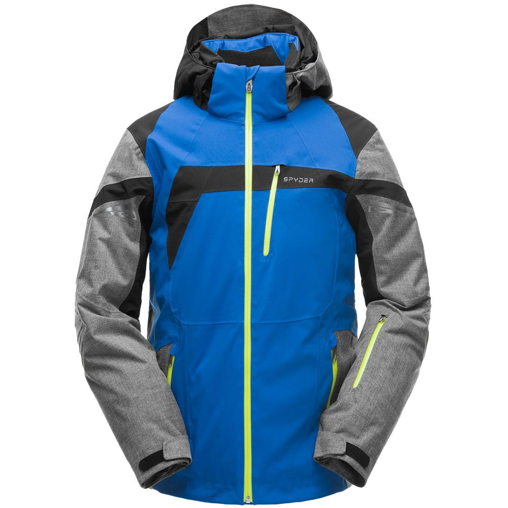 c4731e91a076 Spyder - Titan Ski Jacket Men blue grey