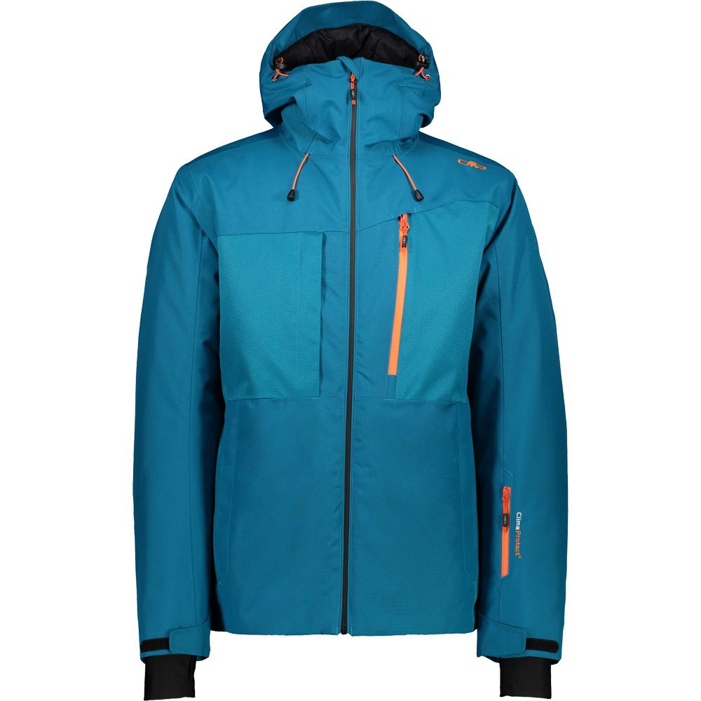 Hood Jacket Men Ski Fix CMP zaffiro L54ARj3q