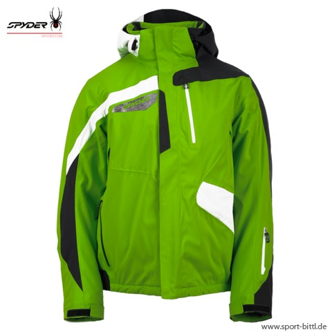 8f4b3e69e Spyder - Titan Jacket mantis green/black/white Herren at Sport Bittl ...