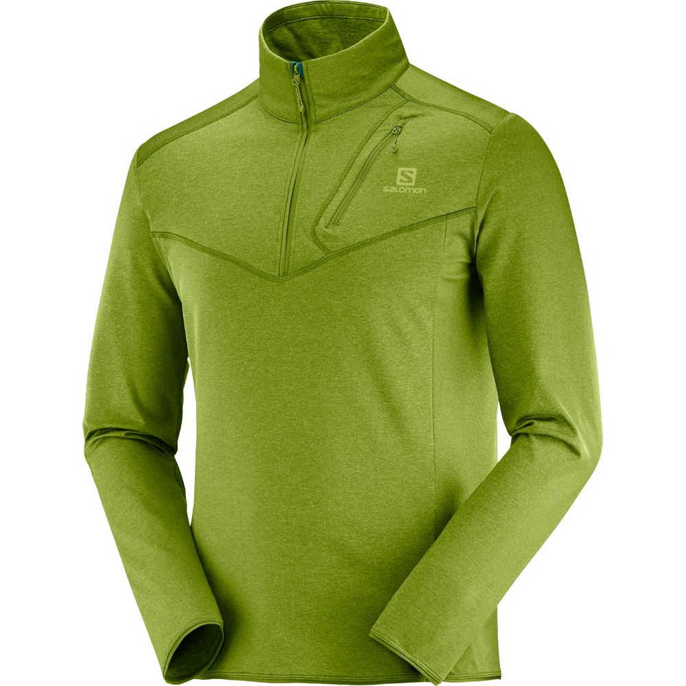 Salomon Discovery HZ M Midlayer Herren avocado