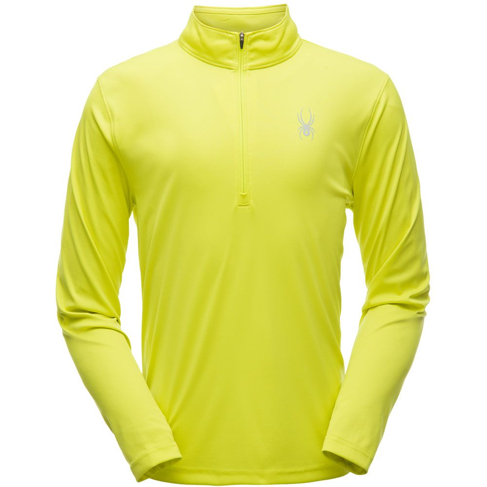 431a2aeef7664 Spyder - Limitless Ski Pullover Men yellow at Sport Bittl Shop