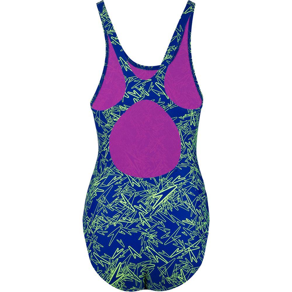 Speedo Thinstrap Muscleback Schwimmanzug Badeanzug Damen