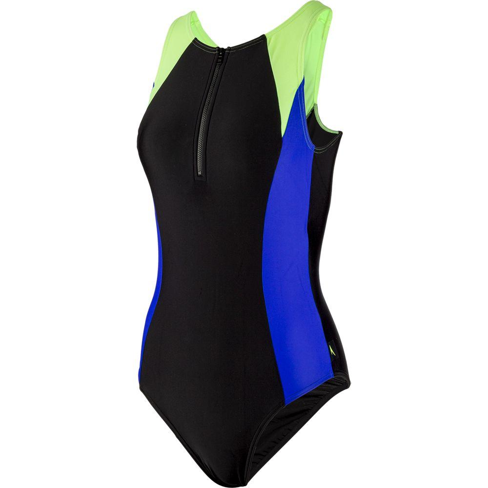 Speedo Women/'s Hydrasuit Swimsuit Black Size 36 .