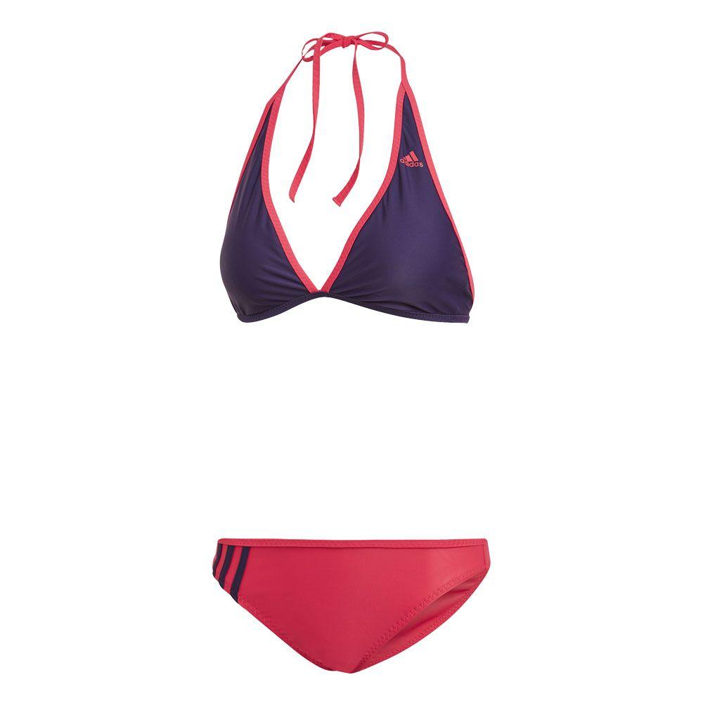 adidas Beach Halter Bikini Women legend purple active pink