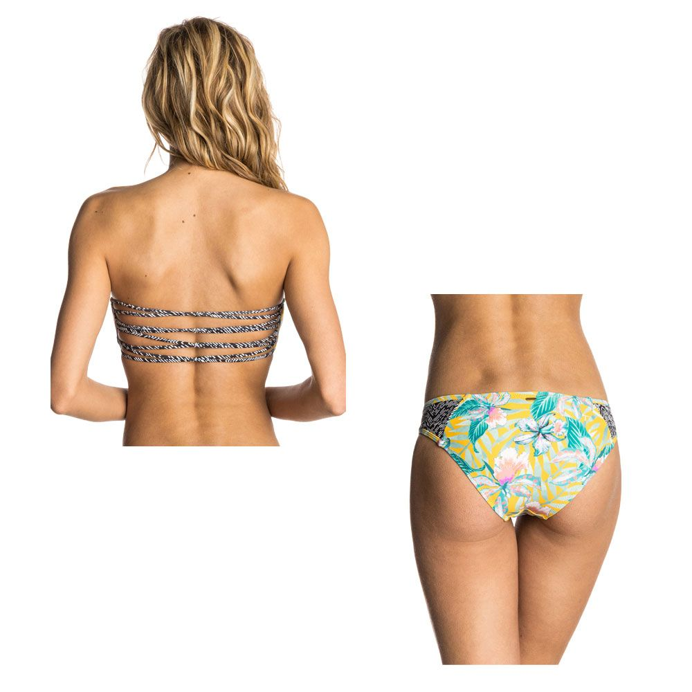 Großhandelspreis großer Lagerverkauf vielfältig Stile Rip Curl - Tropic Tribe Bandeau Bikini Women solar power at Sport ...