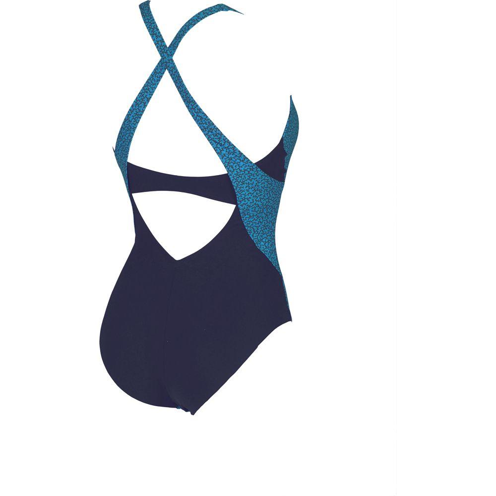 Arena Clio Cradle Low Cut B Cup Swim Suit Women navy