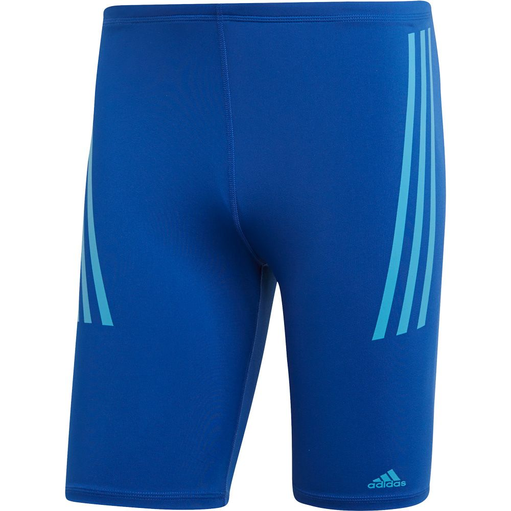 ea1133a798cbb adidas - Pro 3-Stripes Swim Jammers Men collegiate royal shock cyan ...