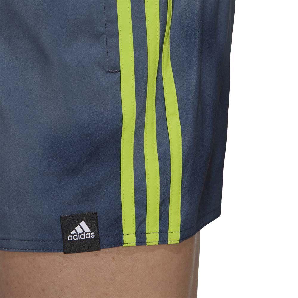 adidas 3 Streifen Fade CLX Badeshorts Herren legend ink