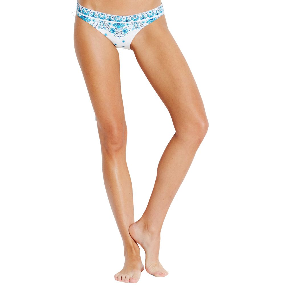 d54e1349b7 Seafolly - Sunflower Border Hipster Bikini Pants Women electric blue ...