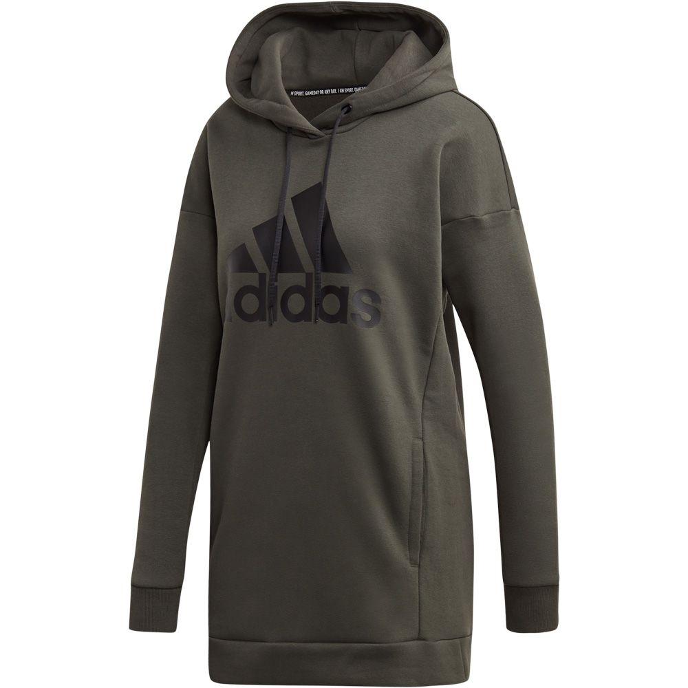 adidas - Must Haves Badge of Sport Logo Hoodie Women legend ...