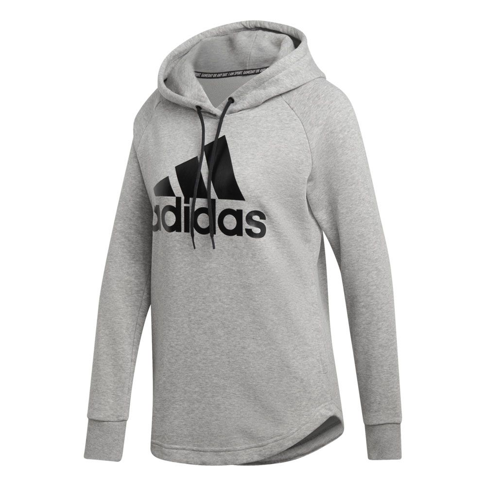 adidas Must Haves Badge of Sport Hoodie Damen medium grey