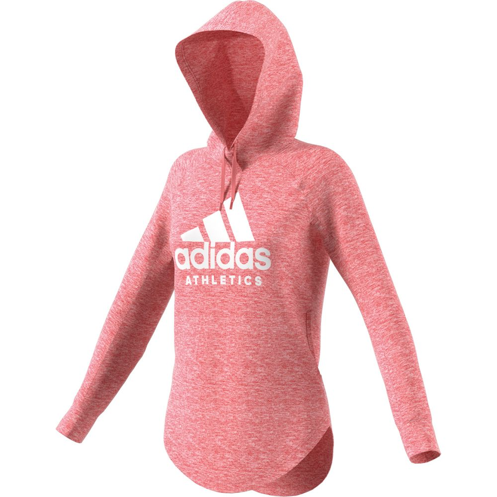 cc732c32e adidas - Sport ID Over Head Hoodie Women tactile rose at Sport Bittl ...