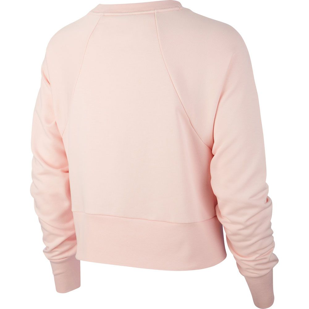 Nike Dri FIT Get Fit Fleece Sweatshirt Women echo pink