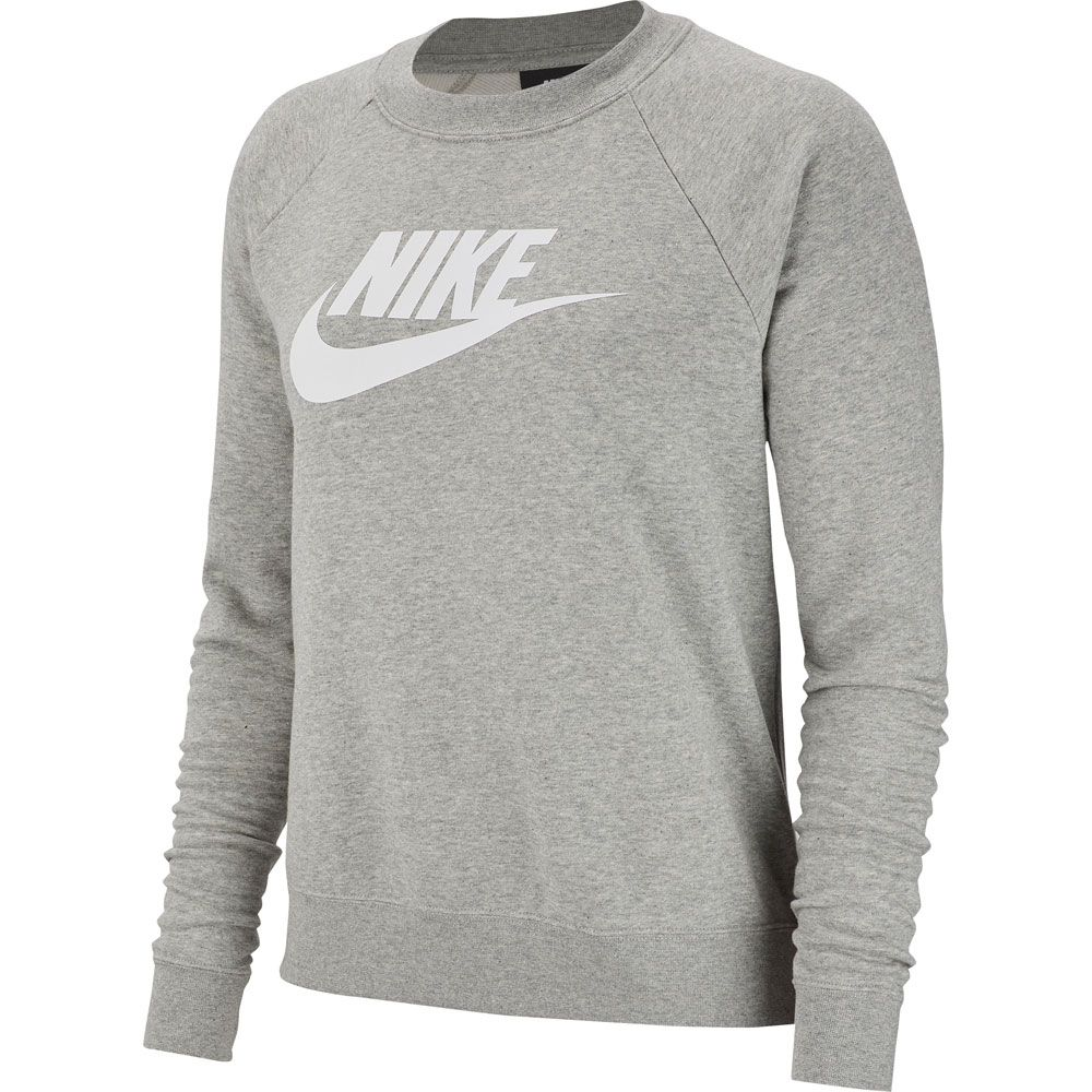 beliebt kaufen d6208 01103 Nike - Sportswear Essential Fleece Crew Sweatshirt Damen dark grey heather  white