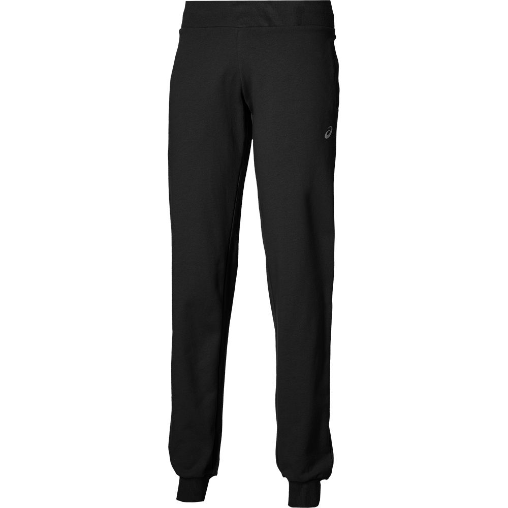 asics slim jog pants damen black kaufen im sport bittl shop. Black Bedroom Furniture Sets. Home Design Ideas
