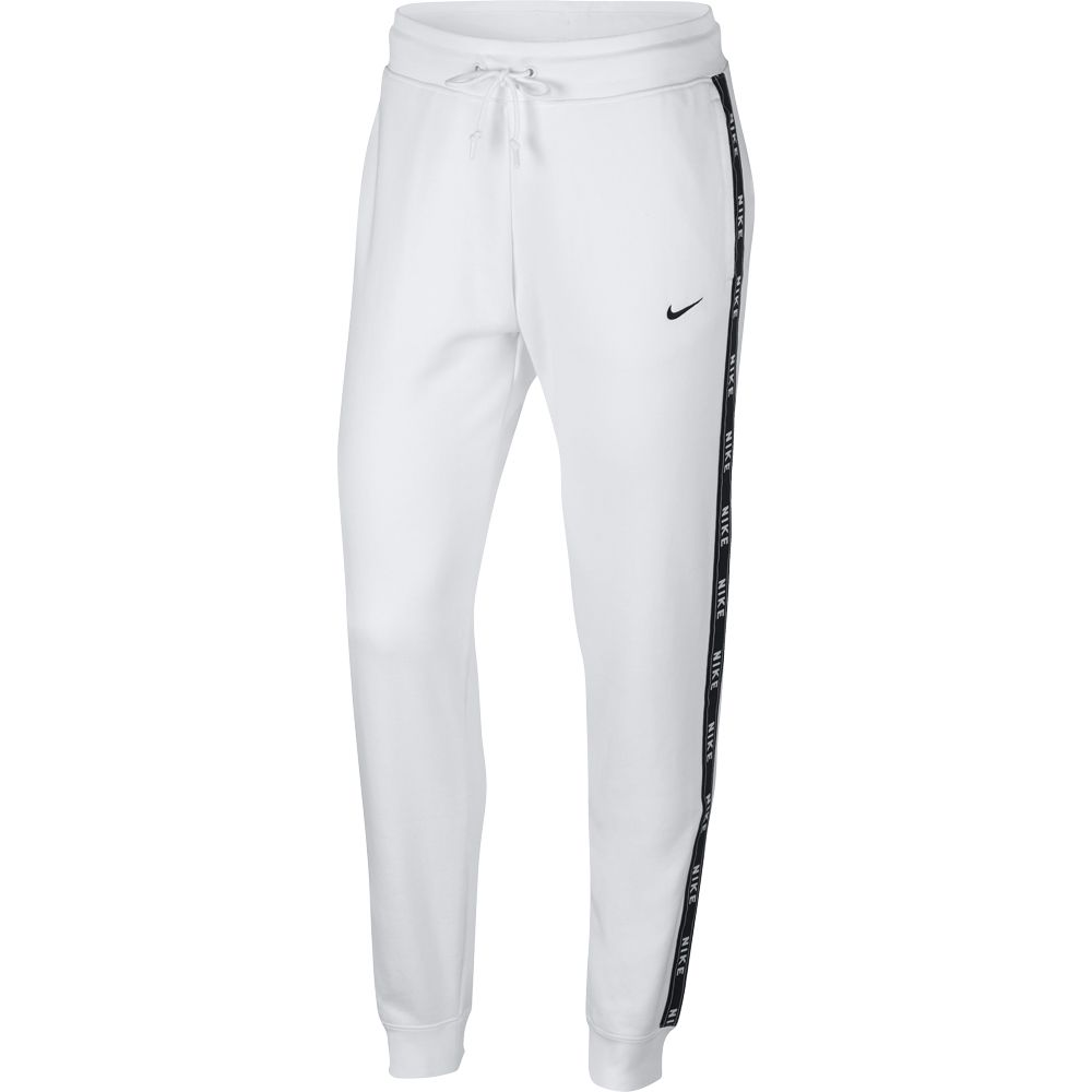 Nike Sportswear Logo Tape Trainingshose Damen white black
