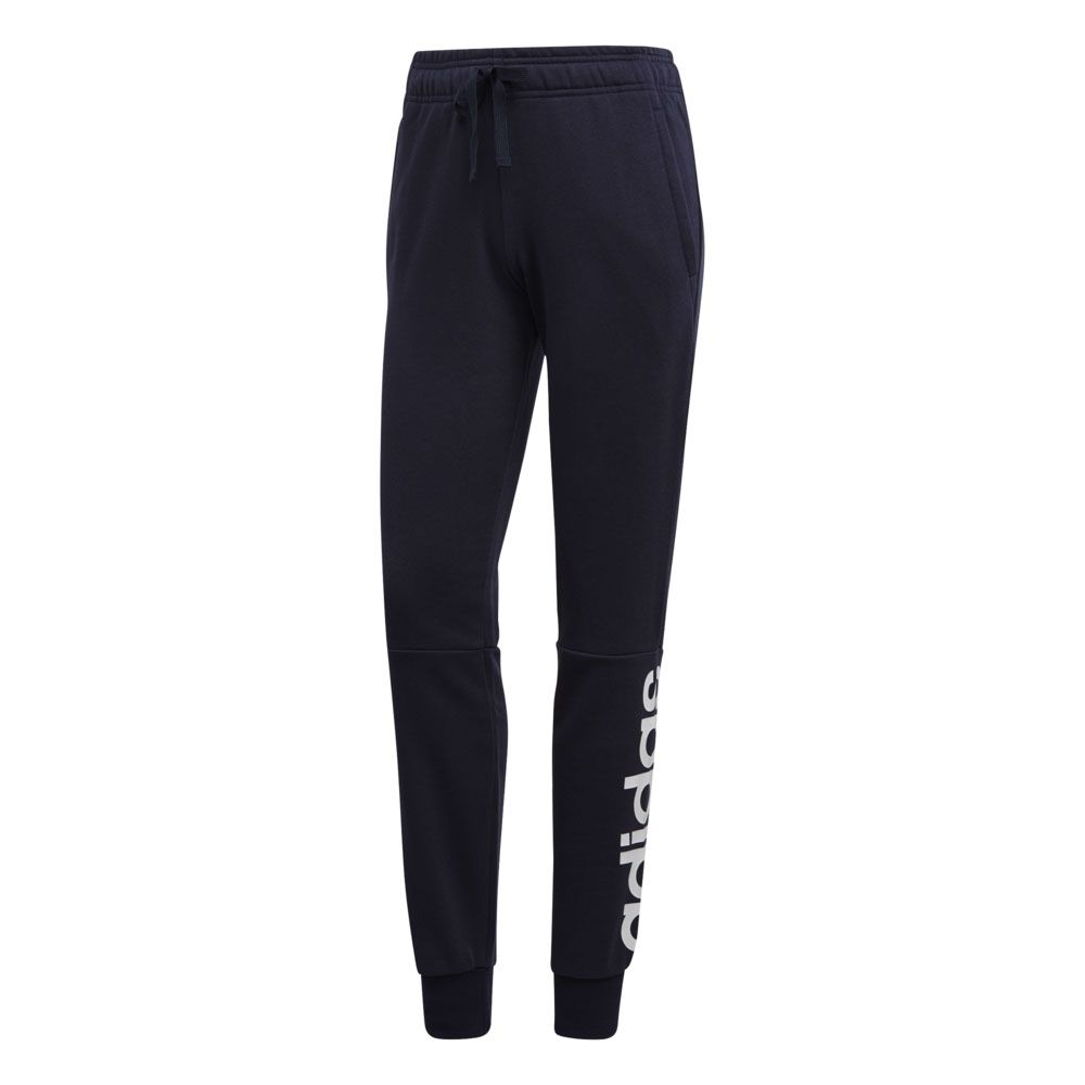 heiß adidas Essentials Linear Cuffes Trainingshose Damen