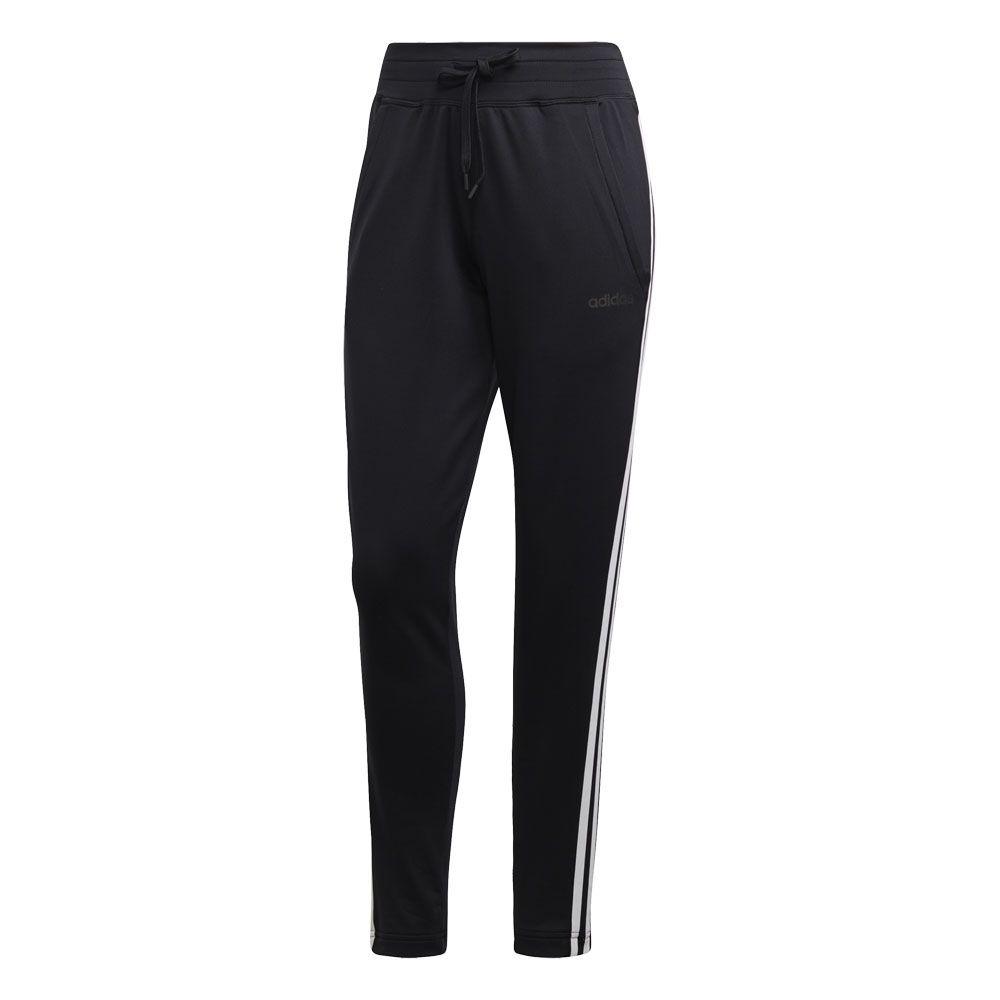 adidas Design 2 Move 3 Streifen Trainingshose Damen schwarz weiß