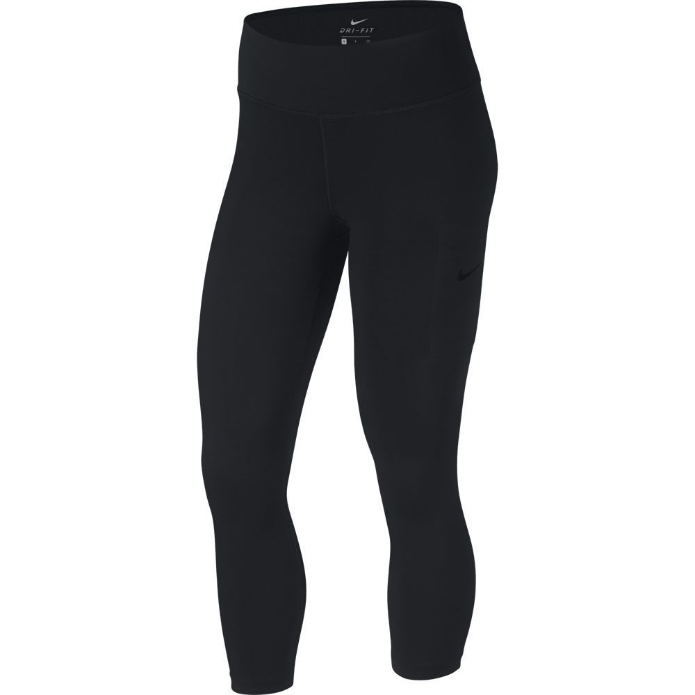 519555d2d32f45 Nike - Power Hype 3/4 Training Crops Women black clear at Sport ...