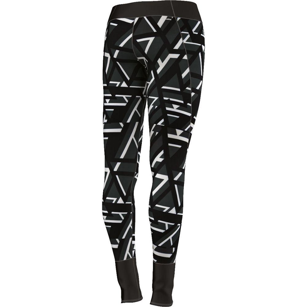 adidas tights damen schwarz weiß