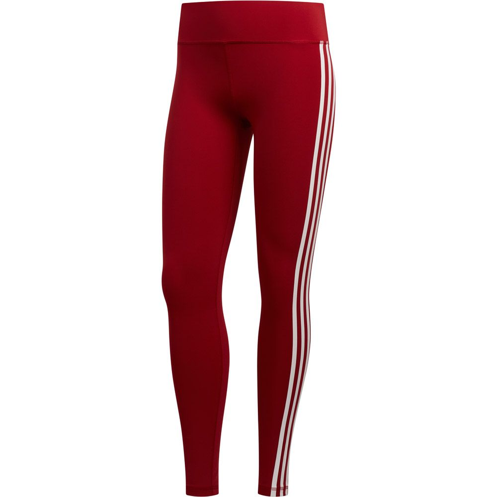 943c6147 adidas - Believe This 3-Stripes Tights Women active maroon at Sport ...