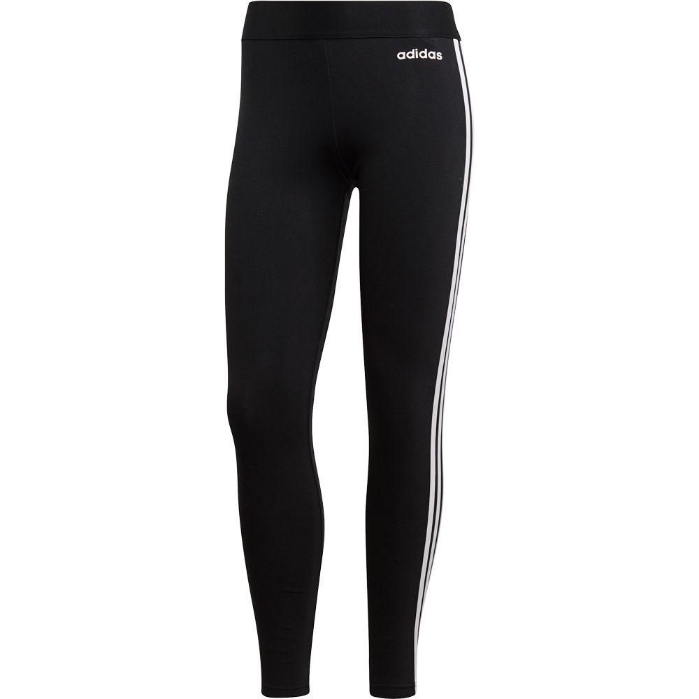 adidas - Essentials 3-Stripes Tights Women black white
