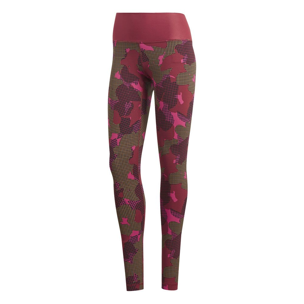 adidas - Believe This Tights Women noble maroon print at Sport Bittl ... b8adf87cd88