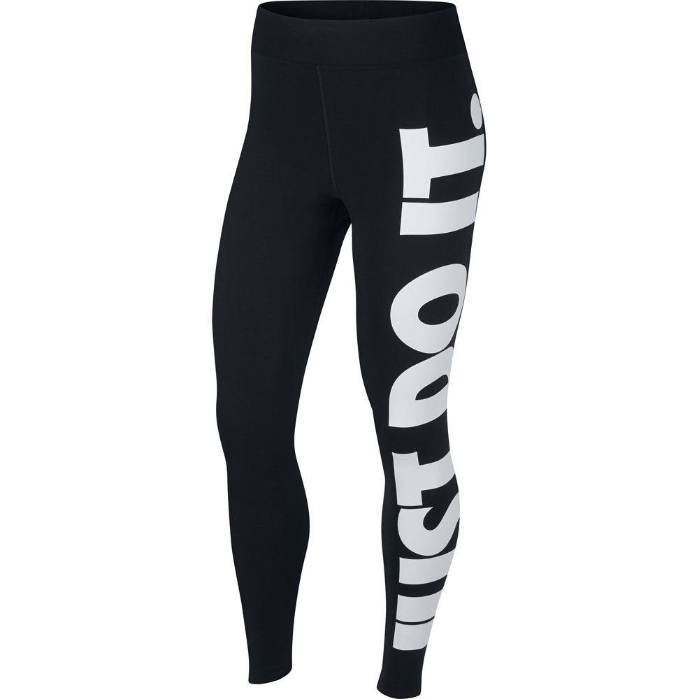 Interminable afeitado foro  Nike - Sportswear Leg-A-See High-Rise Leggings Women black white at Sport  Bittl Shop