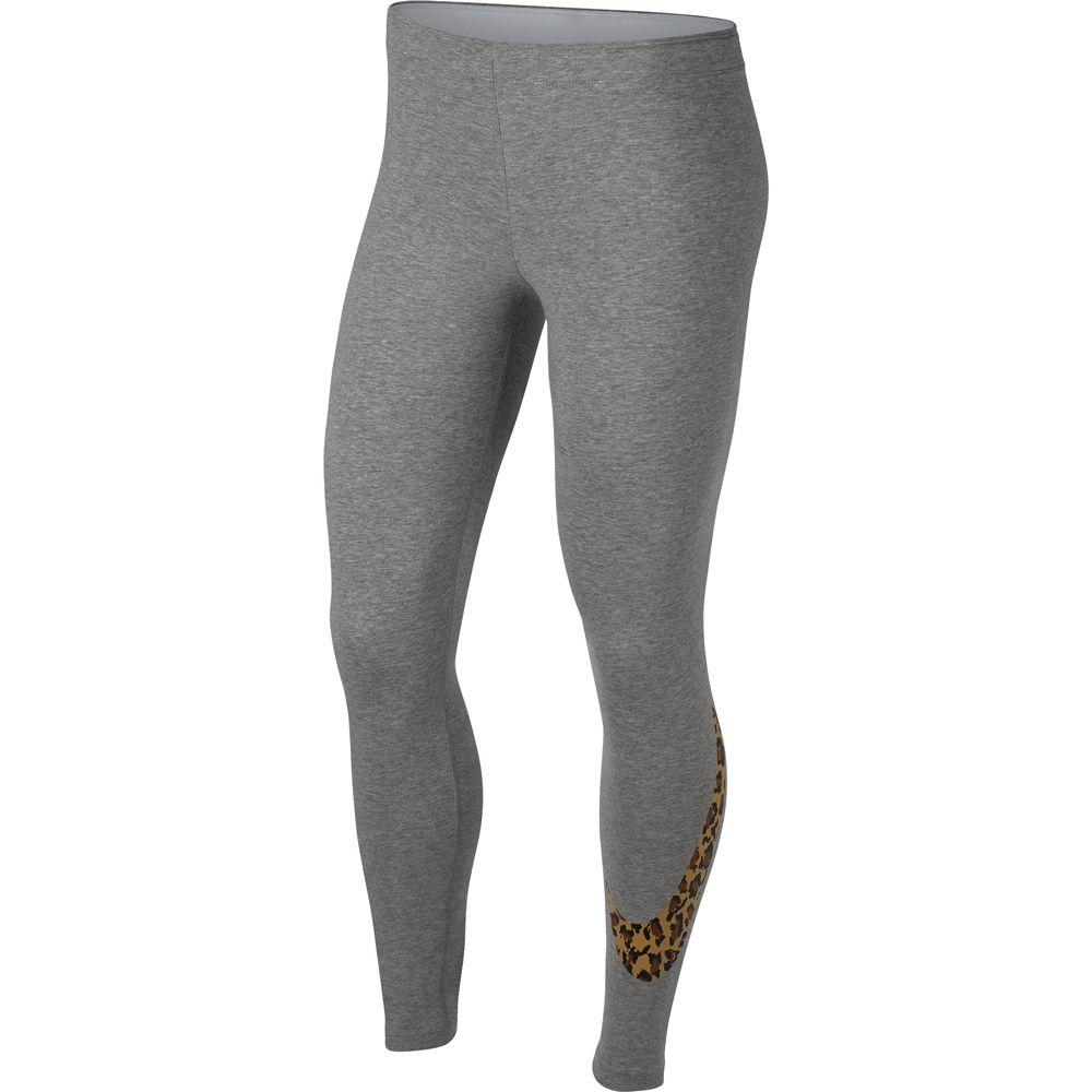 Nike Sportswear Leggings Damen dark grey heather