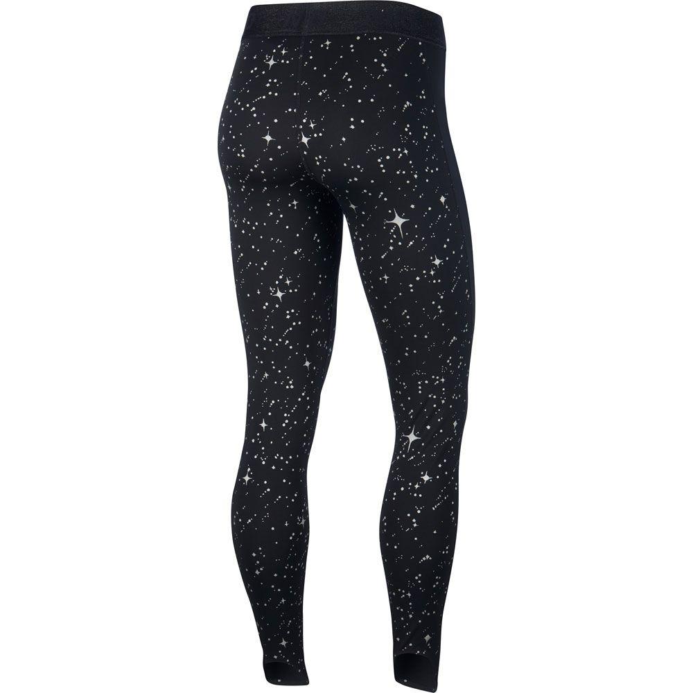 binario cigarrillo Creta  Nike - Pro Warm Starry Night Tights Women black thunder grey at Sport Bittl  Shop