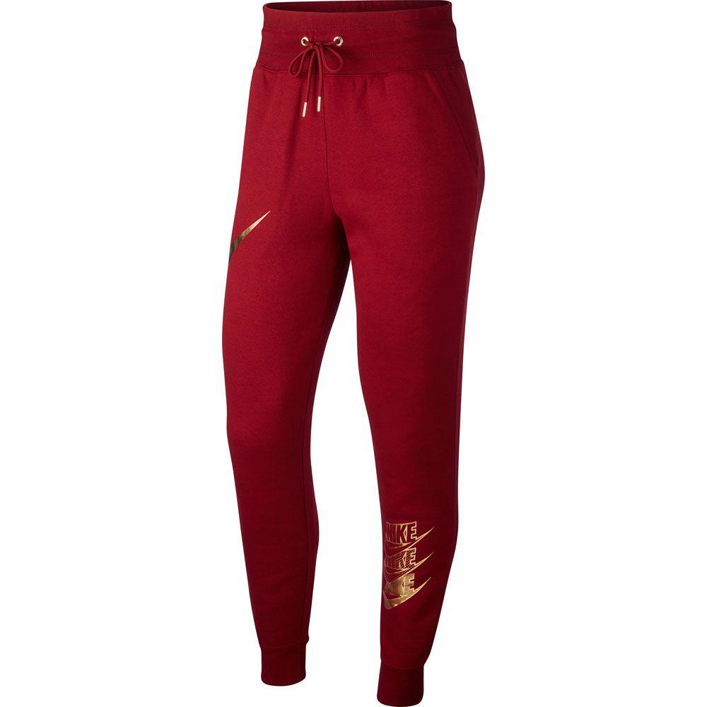 Damen Nike red Trainingshose team metallic Sportswear gold 6bYfvymI7g