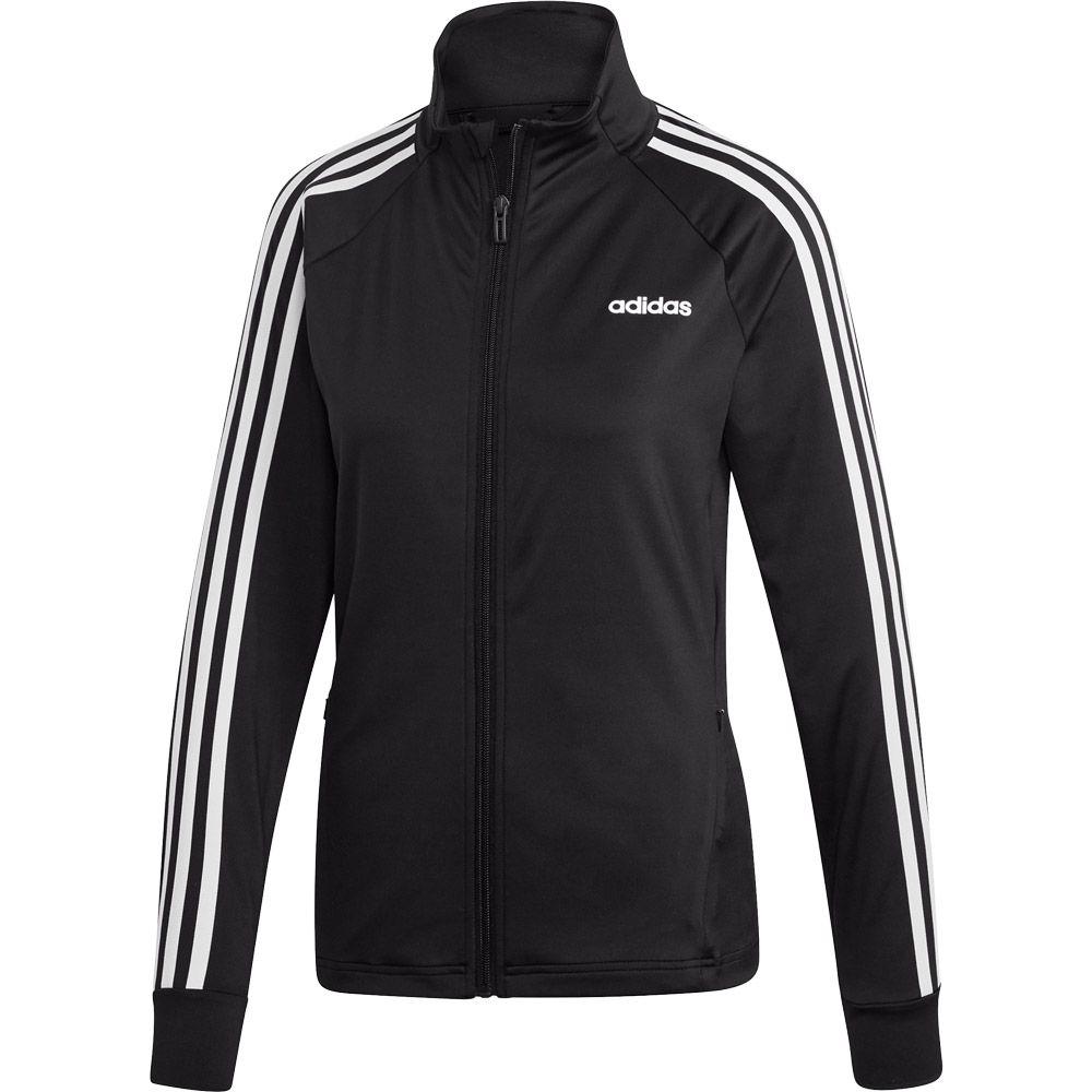 adidas Designed 2 Move 3 Streifen Trainingsjacke Damen schwarz weiß