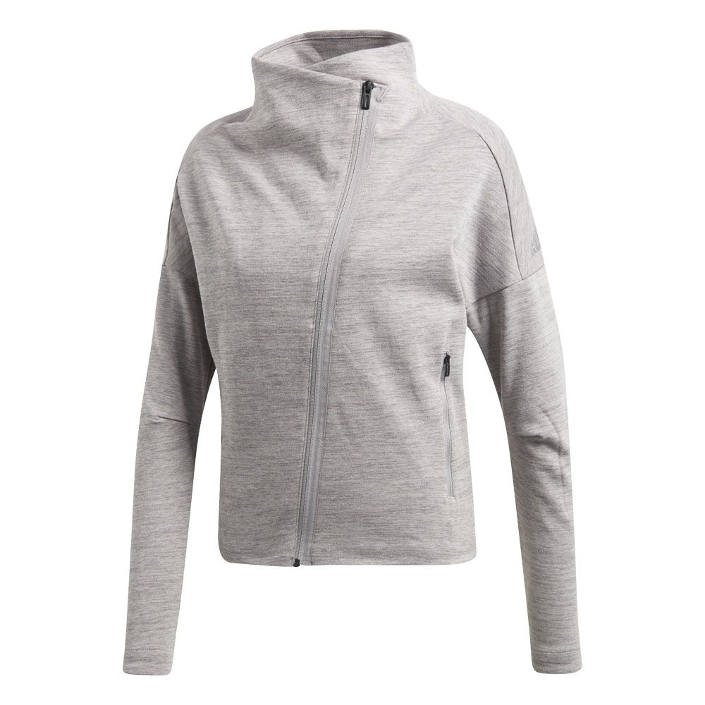 unique design many styles outlet online adidas - Heartracer Jacke Damen grey two grey four kaufen im ...