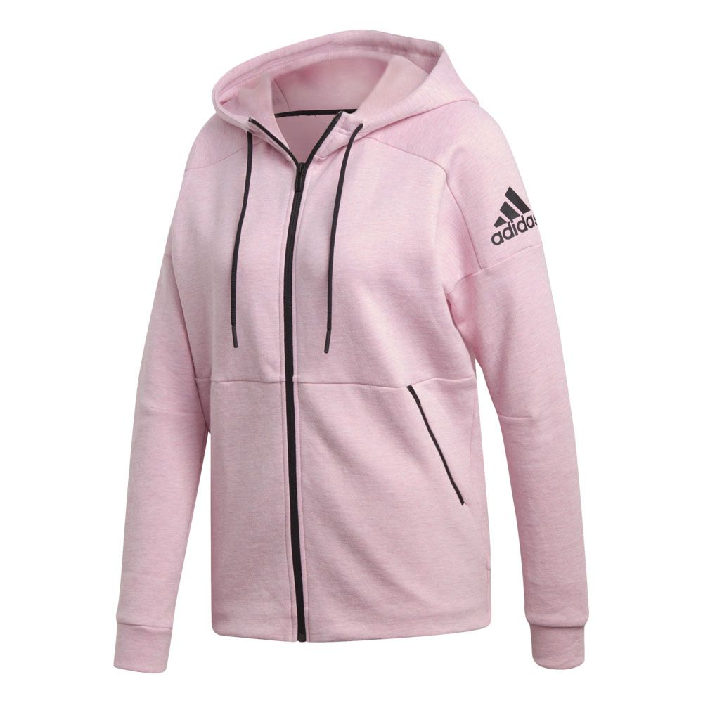 True Id Sport Pink Stadium Zip Full Women At Adidas Hoodie R5AL3q4j