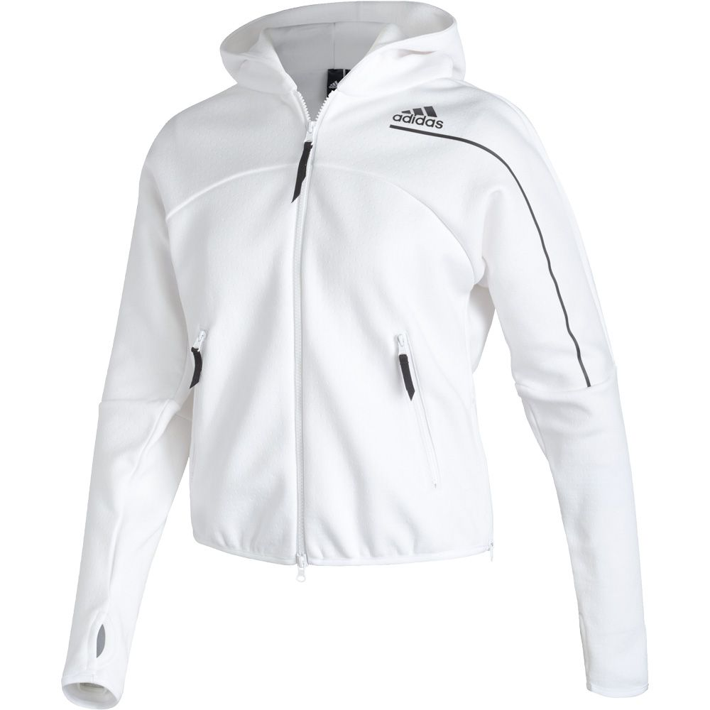 vender Asado solo  adidas - Z.N.E. Hooded Jacket Women white at Sport Bittl Shop