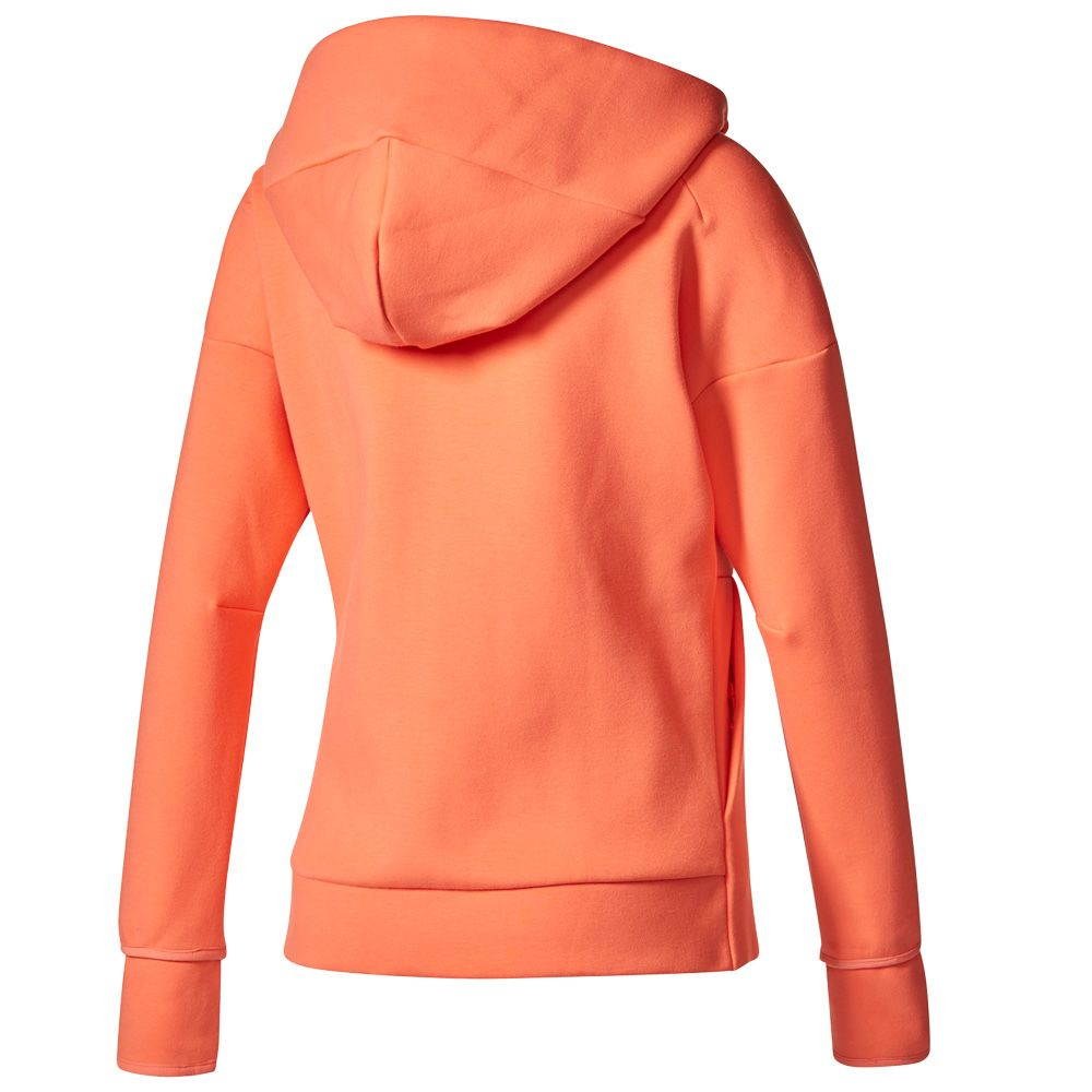adidas Z.N.E. Hoodie 2 women orange at Sport Bittl Shop