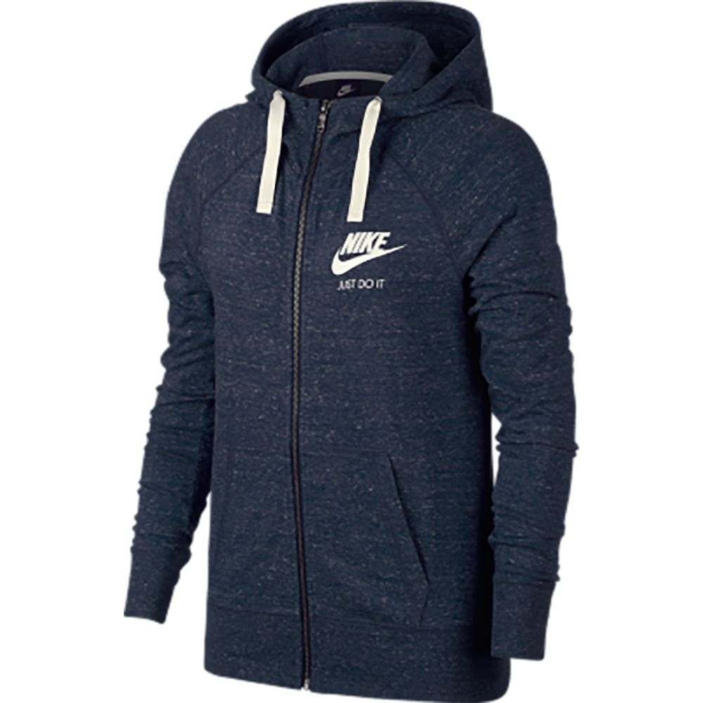 Nike Sportswear Gym Vintage Hoodie Women binary blue sail